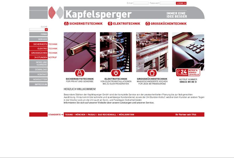 Home_Kapfelsperger_GmbH_-_Sicherheitstechnik_Elektrotechnik_Grokchentechnik